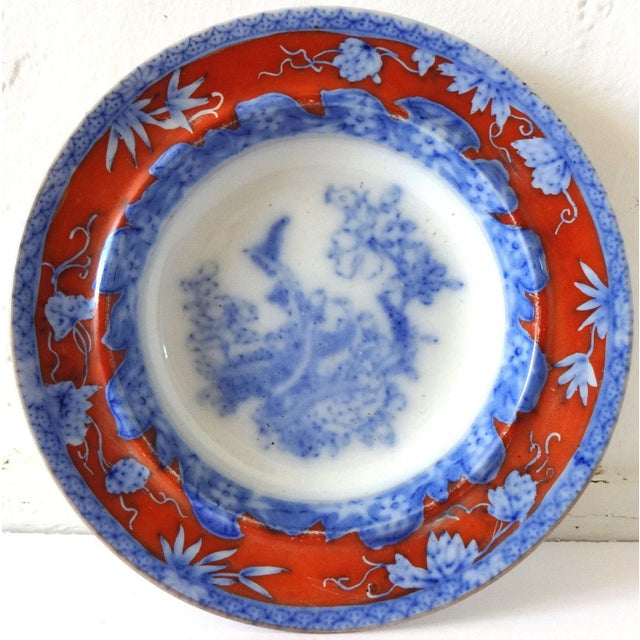 Early 19th Century Antique Mason's Staffordshire Flow Blue Dish For Sale - Image 10 of 10