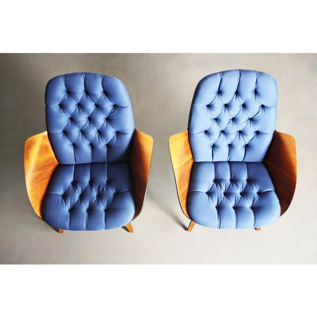 George Mulhauser for Plycraft Lounge Chairs - Pair - Image 11 of 11