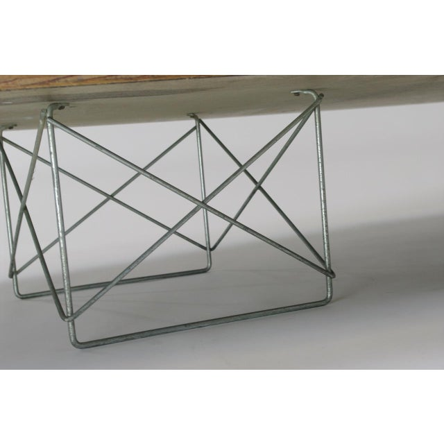 "Chrome Eames Elliptical ""Surfboard"" ETR Coffee Table For Sale - Image 7 of 11"