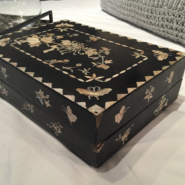 Mother of Pearl Decorative Box - Image 6 of 6