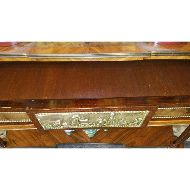 19c French Breakfast Console Buffet For Sale In Dallas - Image 6 of 13