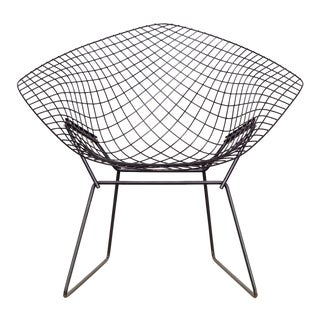 Vintage Harry Bertoia for Knoll Diamond Wire Chair - Pair Available For Sale