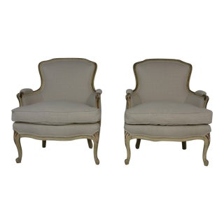 1950s Louis XV Style Side Chairs - a Pair For Sale
