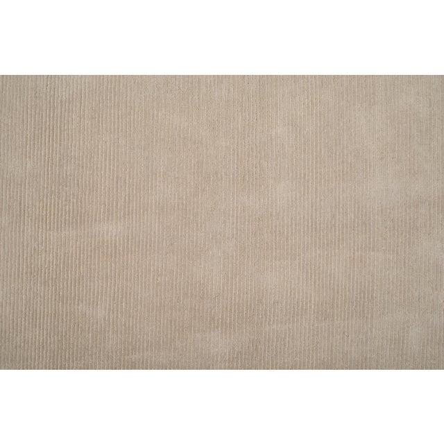 Stark Studio Rugs Stark Studio Rugs Contemporary Oriental Silk and Wool Rug - 5' X 7' For Sale - Image 4 of 5