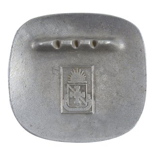 Walter Reed Institute Nursing Pewter Ashtray For Sale