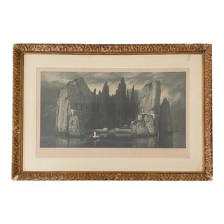 Isle of the Dead Photogravure by Arnold Böcklin For Sale