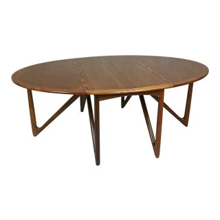 "Danish Modern Kurt Ostervig Teak ""Spider"" Table For Sale"