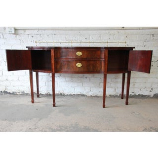 Inlaid Mahogany Hepplewhite Style Sideboard Buffet by Thomasville Preview