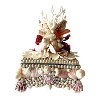 Seashell and Coral Small Box For Sale