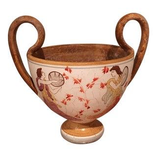 Classic Greek Mythology Crater Vase For Sale