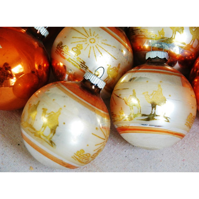 1950s Christmas Ornaments With Box - Set of 9 - Image 5 of 8