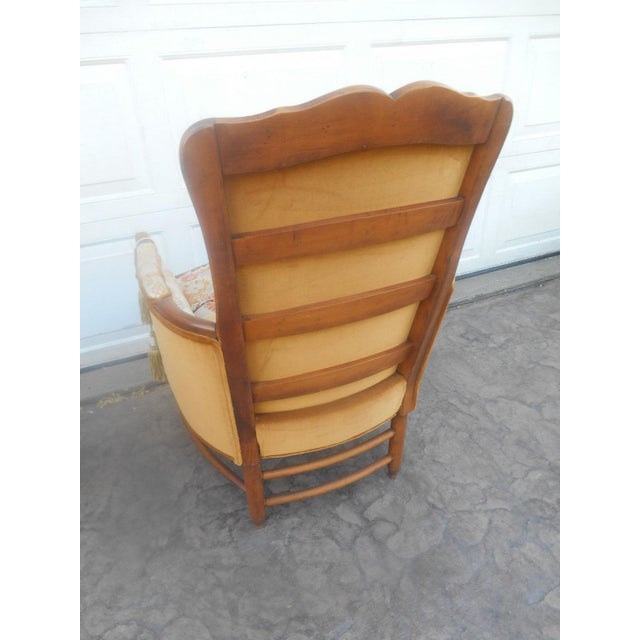 Vintage Heywood Wakefield Era Club / Fireside Arm Chair For Sale - Image 6 of 10