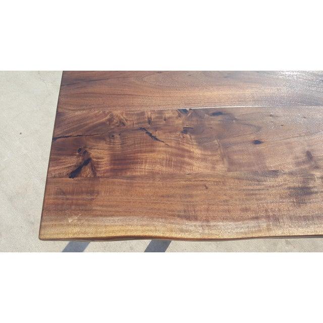 Acacia Wood Live Edge Table - Image 7 of 8