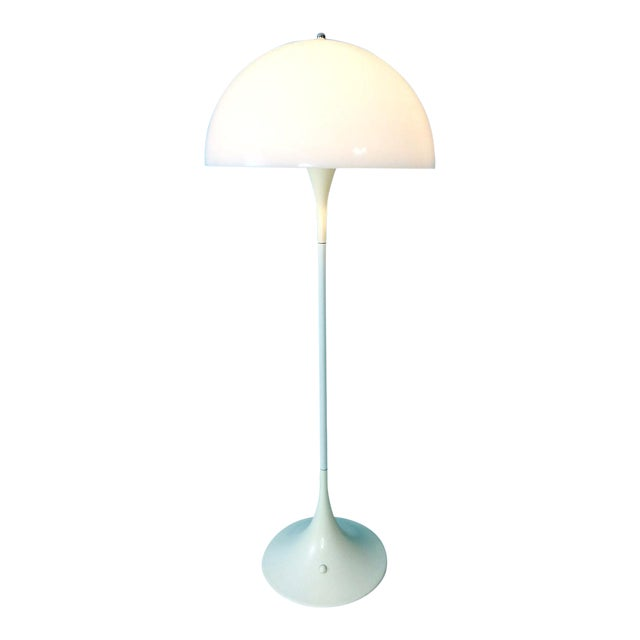 Verner Panton Dome Panthella Louis Poulsen Mid Century Modern Floor Lamp For Sale