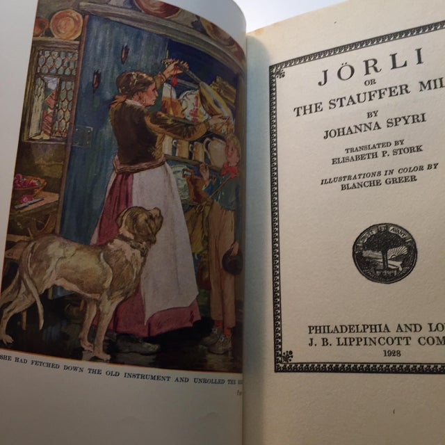 "1928 ""Jorli by Johanna Spryi"" 1st Edition - Image 3 of 7"