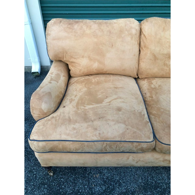 George Smith George Smith Loose Back Standard Arm Sofa For Sale - Image 4 of 8