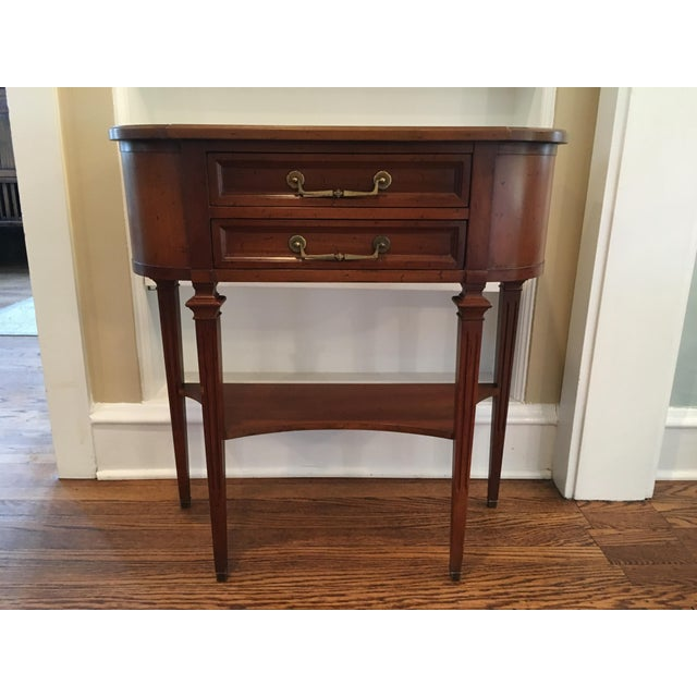 Hekman Wood Accent Table For Sale - Image 10 of 10
