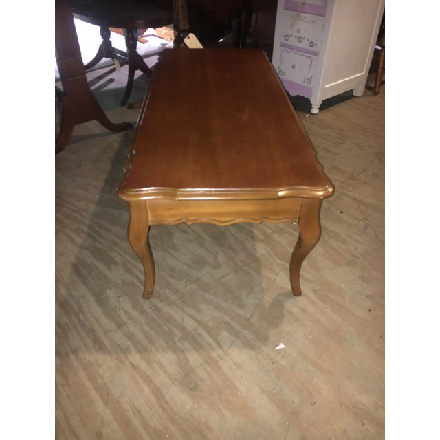 Vintage Coffee Table By Bassett Furniture