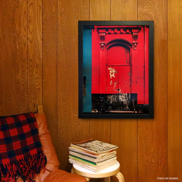 """Red Door"" Poster by Sheldon Brody - Image 2 of 2"