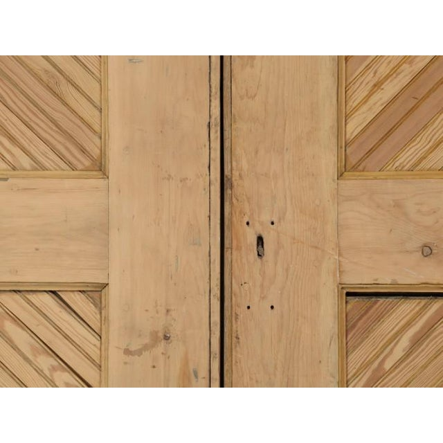 Brown 1890s Antique American Barn or Garage Doors For Sale - Image 8 of 13
