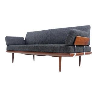 Scandinavian Modern Teak Sofa Designed by Peter Hvidt For Sale