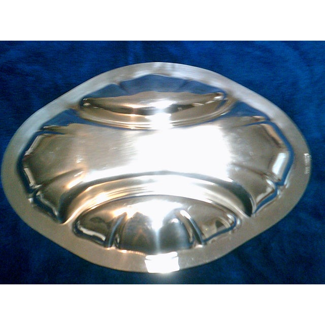Traditional Vintage Poole Silverplate Relish Tray For Sale - Image 3 of 6