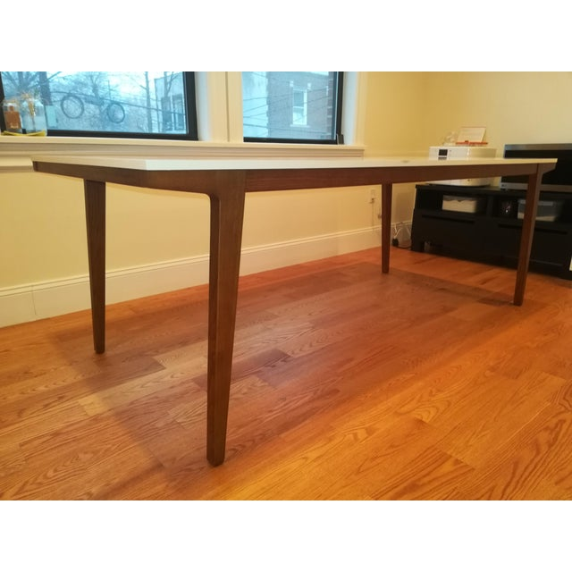 Mid-Century Modern West Elm Modern Dining Table For Sale - Image 3 of 7