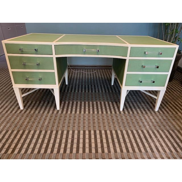 Transitional Lexington Home Sligh Partner Desk For Sale - Image 13 of 13