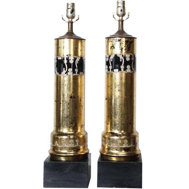 Pair of Piero Fornasetti Table Lamps - Image 1 of 8