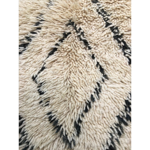 "Moroccan Area Rug - 6'3"" X 11'1"" - Image 4 of 7"