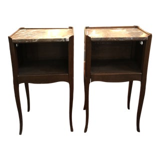 Antique Early 19th Century French End Tables - a Pair For Sale