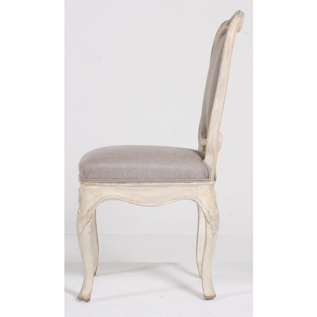 Swedish Baroque Side Chairs - A Pair - Image 4 of 9