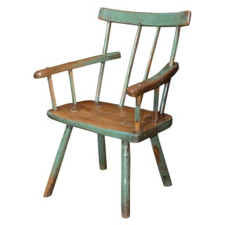 Early 19th Century Irish Fools Chair For Sale