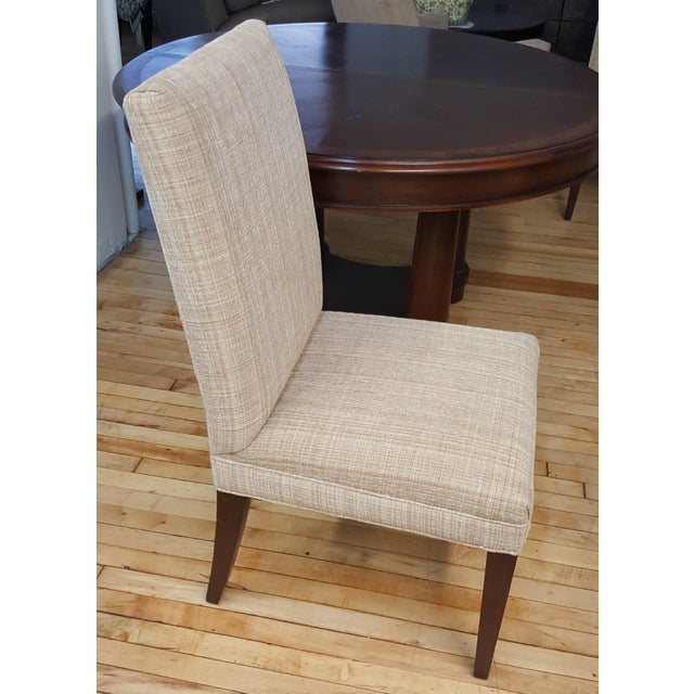 Brown Hickory White Dining Room Set For Sale - Image 8 of 13