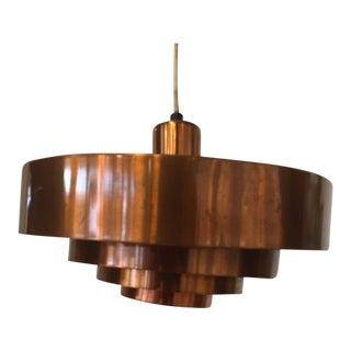 Jo Hammerborg Copper Roulet Pendant Lamp