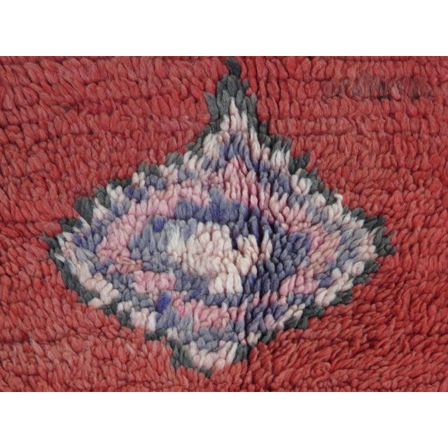 Vintage Moroccan Boujad Rug For Sale - Image 10 of 11