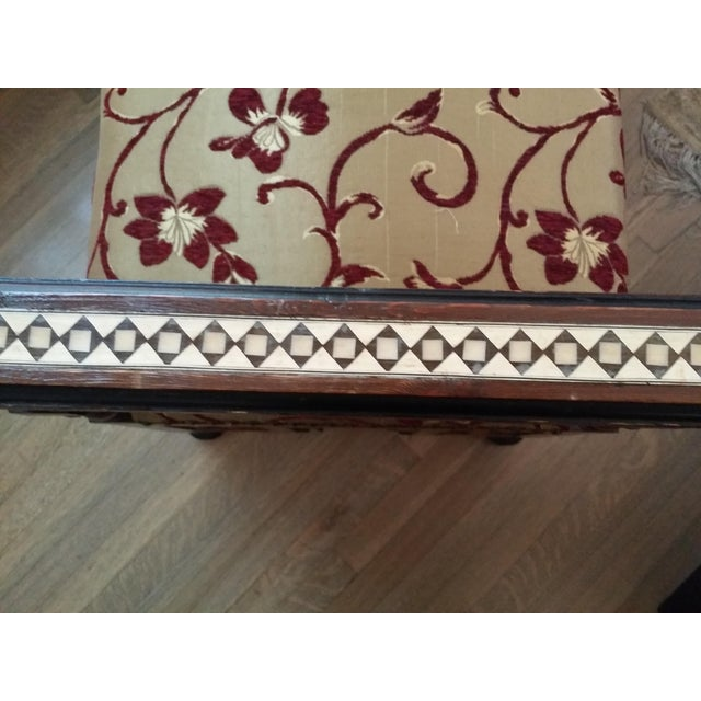 Vintage Syrian Settee - Image 3 of 9