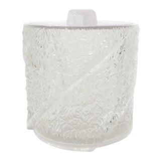 Mid-Century Modern Iceberg Acrylic Ice Bucket For Sale