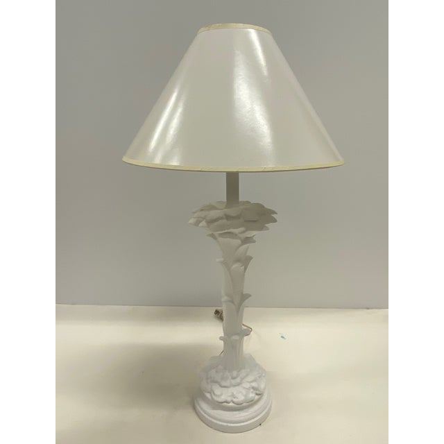 Serge Roche Style Palm Motife Table Lamps For Sale - Image 11 of 12