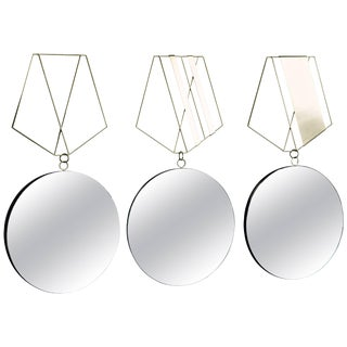 Medallion Brass Mirrors, Rooms For Sale