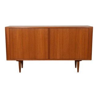 Tambour Door Condo-Sized Sideboard / Media / Bar Cabinet For Sale