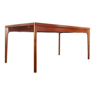 Long Teak Extension Dining Table / Conference Table by Vejle Stole & Mobelfabrik, Denmark For Sale