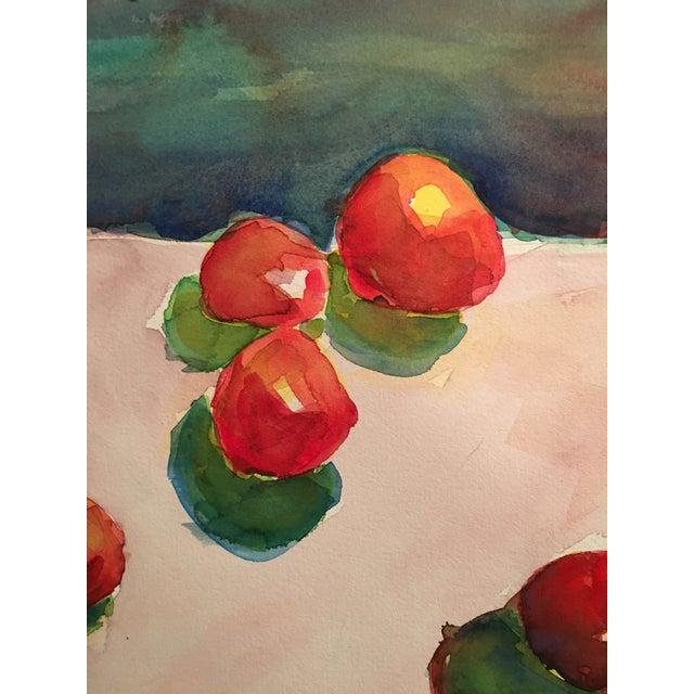 "Original ""Tomatoes"" Watercolor Painting - Image 6 of 7"