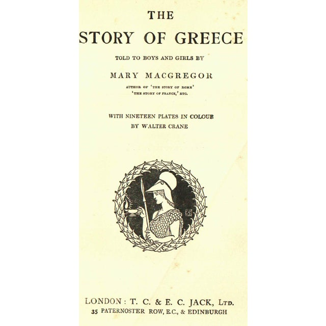 'The Story of Greece' Book by Mary MacGregor - Image 2 of 4