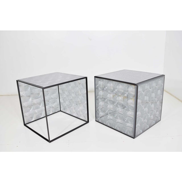 Lens Side Tables by Patricia Urquiola for B & B Italia - a Pair For Sale - Image 9 of 9