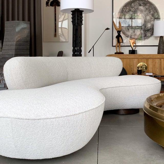Mid-Century Modern Vladimir Kagan Sofas for Directional For Sale - Image 3 of 13