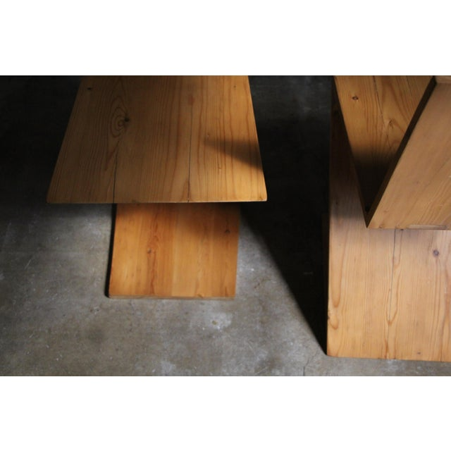 Vintage Gerrit Rietveld Style Zig Zag Chairs - a Pair For Sale In San Diego - Image 6 of 13