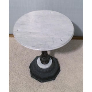 1960s Neoclassical Marble Side Table Preview