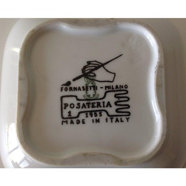 """Piero Fornasetti """"Posateria"""" Accent Dish For Sale - Image 10 of 11"""