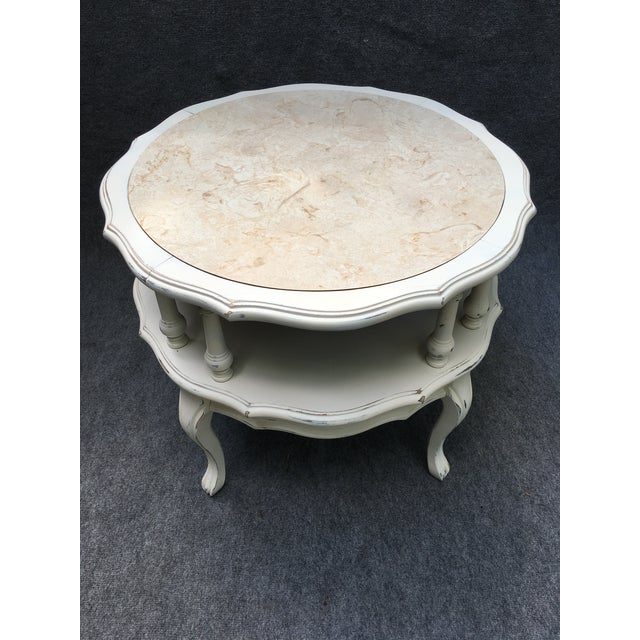 Vintage 2 Tiered Mersman Accent Table For Sale - Image 11 of 11